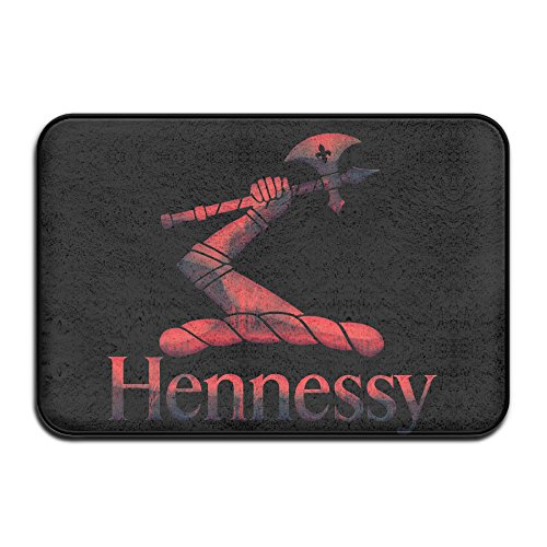 fashions-red-metal-hennessy-xo-logo-personalized-indoor-outdoor-doormats