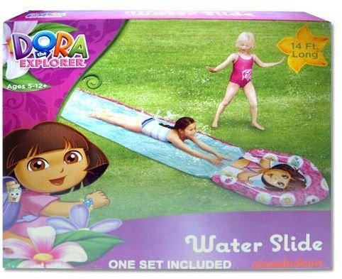 Water Slide - Dora The Explorer - 14' (14 feet long) - 1