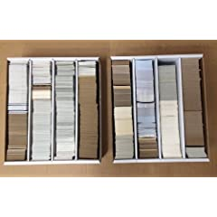 6000 Plus Sports Cards 30LBs Baseball Basketball Football Hockey Low Shipping $600...
