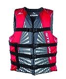 Stearns Erwachsene Schwimmweste Bekleidung, grau/rot, Gr. L thumbnail