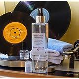 Kit per pulizia di dischi in vinile Kit per pulizia di dischi in vinile con soluzione da 250 ml, con supporto, panni in microfibra e soluzione per pulizia