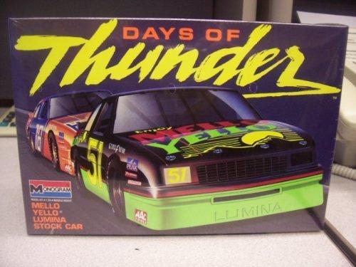 Mellow Yellow Chevy Lumina Stock Car Kit(1990)days of Thunder Series by monogram