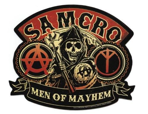 Sons Of Anarchy Men Of Mayhem Sticker