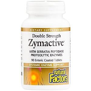 Natural Factors Zymactive Double Strength Tablets, 90-Count