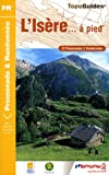 echange, troc FFRP - L'Isère... à pied : 37 Promenades & Randonnées