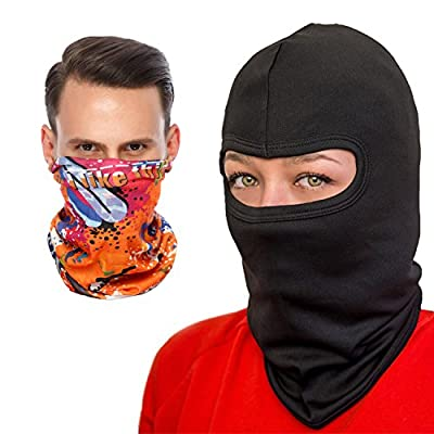COZIA Premium Lightweight Balaclava - Full Face Ski Mask or Motorcycle Balaclava