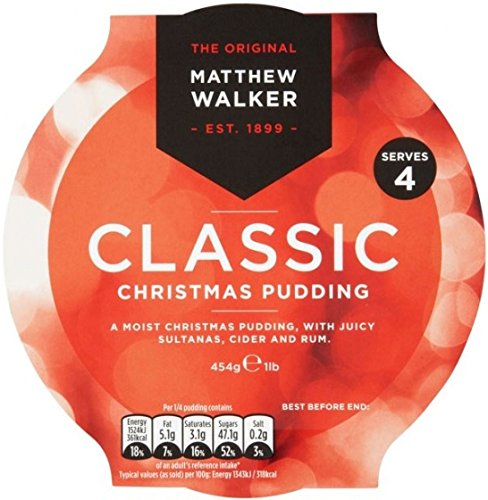 Mathew Walkers Classic Christmas Pudding 454g (British Fruitcake compare prices)