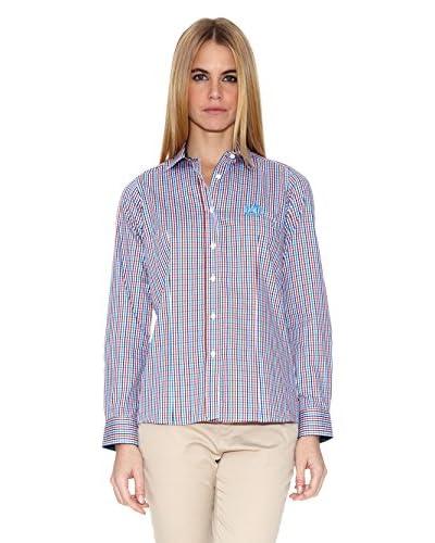 Polo Club Camisa Mujer Checks