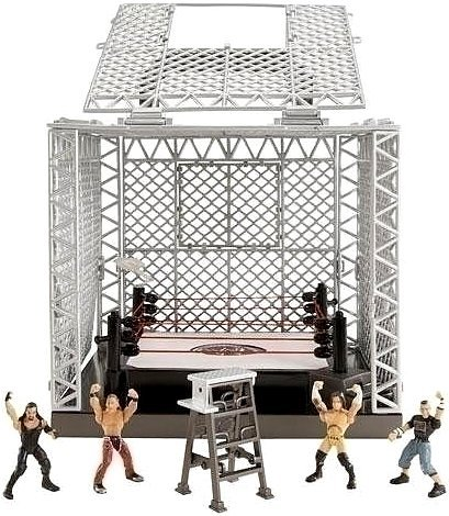 Mattel WWE Wrestling Exclusive Playset The Cell at Sears.com