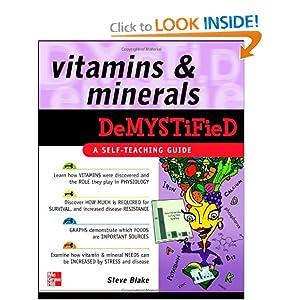 Vitamins and Minerals Demystified - Steve Blake - PDF - Free ebook download