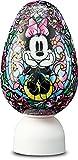 80ピース ジグソーパズル ディズニー ジュエル―ミニーマウス―【光る球体パズル パズランタンエッグ】