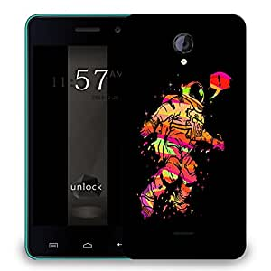 Snoogg Astronaut Designer Protective Back Case Cover For MICROMAX UNITE 2
