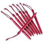 MSR Groundhog Zeltheringe 8er Set red