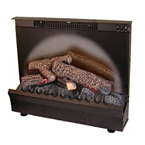 """Electraflame 23"""" Standard Electric Fireplace Insert with Expandable Trim"""