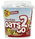Mornflake Oats Two Go Porridge Pots Original (Pack of 8)
