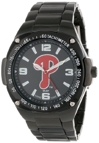 Game Time Unisex MLB-WAR-PHI Warrior Philadelphia Phillies Analog 3-Hand Watch at Amazon.com