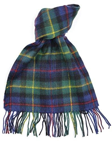 Lambswool-Scottish-Farquharson-Modern-Tartan-Clan-Scarf-Gift