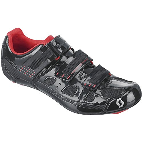 Scott Sports 2016 Men's Comp Road Cycling Shoe - 238876-4731 (black gloss/red - 43.0) (Scott Road Cycling Shoes compare prices)