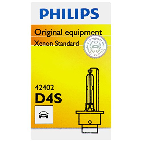 Philips D4S Standard Xenon HID Headlight Bulb, 1 Pack (Headlight Bulbs Lexus Is250 compare prices)