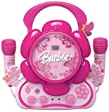 Barbie Floweroake BAR502 Sing-a-long CD Player with Dual Mircophone