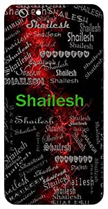 Shailesh (God Of Mountain ( Himalaya)) Name & Sign Printed All over customize & Personalized!! Protective back cover for your Smart Phone : Moto G3 ( 3rd Gen )