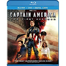 Captain America: The First Avenger (Two-Disc Blu-ray/DVD Combo + Digital Copy)