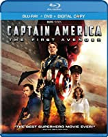 Captain America The First Avenger Two-disc Blu-raydvd Combo Digital Copy from Paramount Studios