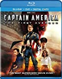 51ZqbEHfP0L. SL160  Captain America: The First Avenger (Two Disc Blu ray/DVD Combo + Digital Copy)