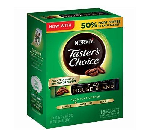 nescafe-tasters-choice-decaf-16-piece-house-blend-instant-coffee-single-serve-sticks-169-oz-by-nesca