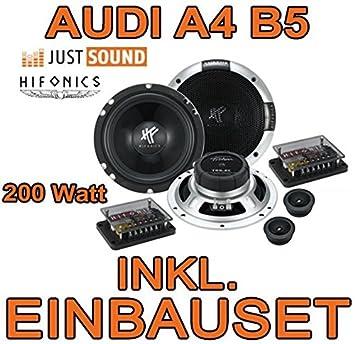 Audi A4 B5 Avant - Lautsprecher - Hifonics Triton TR 6.2C - 16cm Einbauset