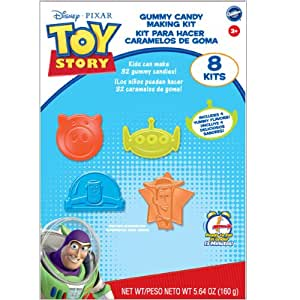 Wilton Gummy Candy Making Kit Toy Story