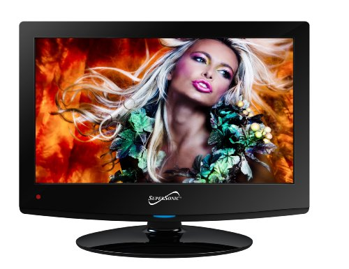 Supersonic SC-1511 15-Inch 60Hz LED-Lit TV