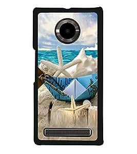 Beach Holidays 2D Hard Polycarbonate Designer Back Case Cover for YU Yuphoria :: YU Yuphoria YU5010
