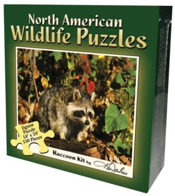 Boxed Puzzle - Raccoon