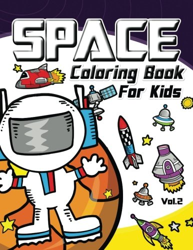 Space Coloring Book for Kids Vol.2 (Volume 2) (Space Postcards compare prices)