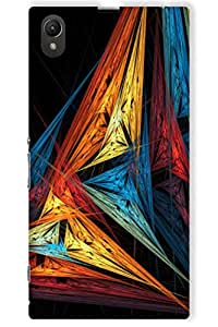 IndiaRangDe Hard Back Cover FOR Sony Xperia Z1