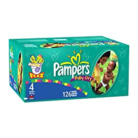 Amazon - Pampers Baby Dry Diapers - Size 4 or 5 - $19.99 - expired