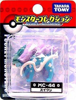 """Takaratomy Suicune (MC-44): Pokemon Monster Collection 2"""" Mini Figure"""