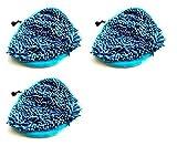 3 x Microfibre Coral Steam Mop Pads Fits VAX S2 Montiss Bionaire Delta Efbe-Schott H20 X5 H2O