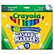 Crayola 12ct Washable Markers