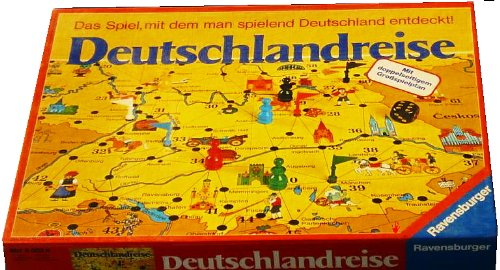 Deutschlandreise – gelbe Ausgabe (Spiel)