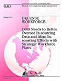 Defense Workforce: Dod Needs to Better Oversee In-sourcing Data and Align In-sour