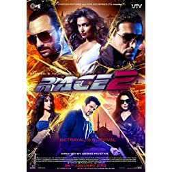 Race 2 - DVD  (Hindi Movie / Bollywood Film / Indian Cinema) (2013)