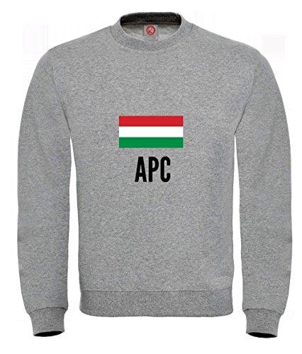 sweat-shirt-apc-city-gray