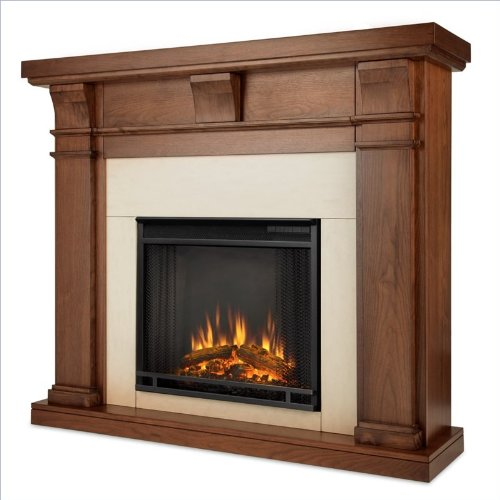 Real Flame Porter Electric Fireplace - Walnut picture B00GBPZZ3A.jpg
