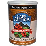 Organic Coffee, Fair Trade Classic Roast, 12 oz (339 g)