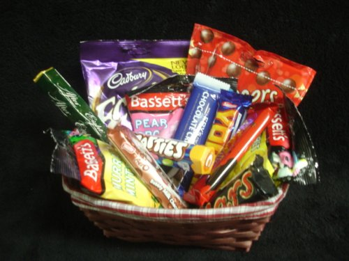 British Chocolate & Sweets Gourmet Gift Basket