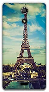 The Racoon Lean Paris hard plastic printed back case / cover for Sony Xperia ZR