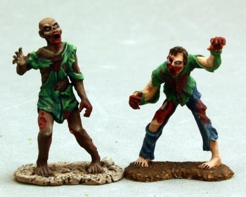 Billy & Earnest, Zombies (2) Miniature - 1