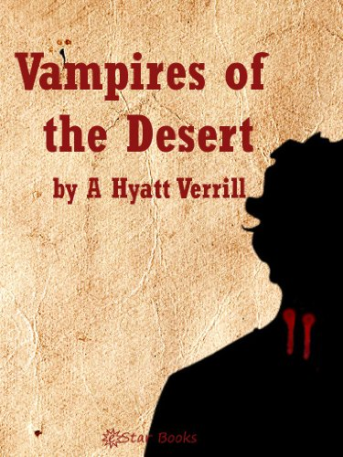 Vampires of the Desert  cover